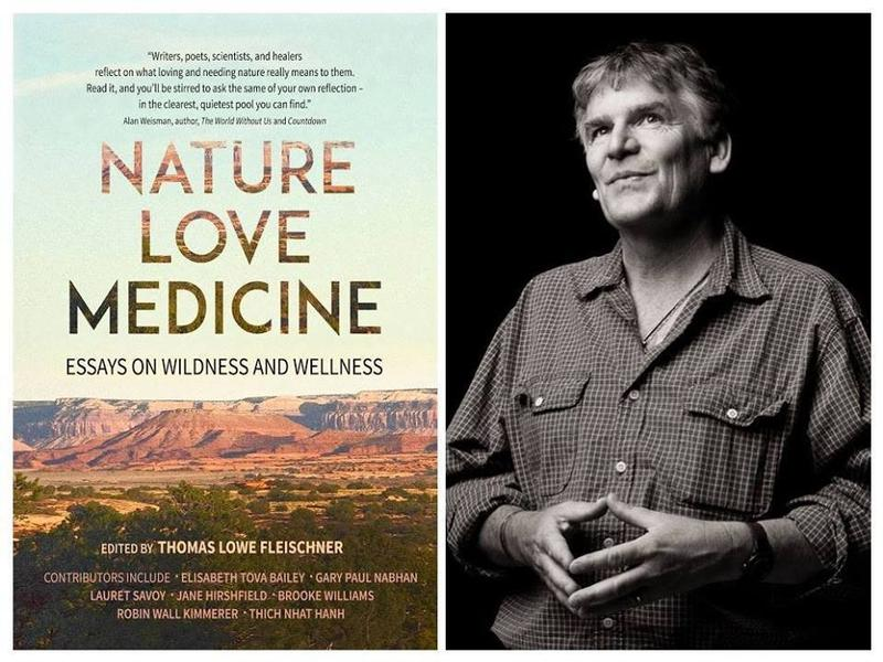 Back of Beyond Conversation Series Presents:  Nature, Love, Medicine: A  Conversation About Wildness and Wellness with Thomas Lowe Fleischner and Edie Dillon