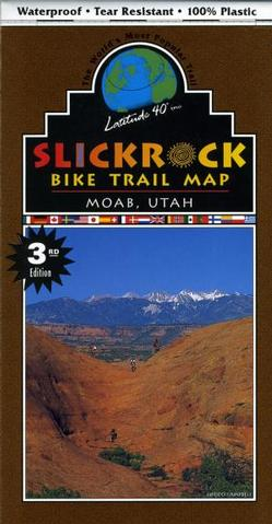 Slickrock Bike Trail Map - Moab, Utah 3rd Edition