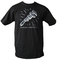 Monkey Wrench Gang Shirt - The Wrench (Black)